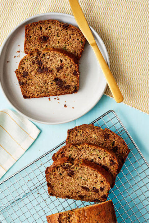 Zucchini Chocolate Chip Quick Bread