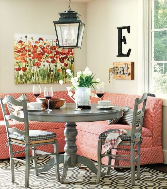 Corner Breakfast Nook Ideas
