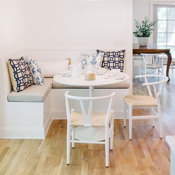 corner breakfast nook table set ideas