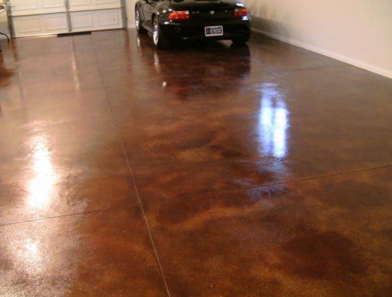 cool garage floor ideas