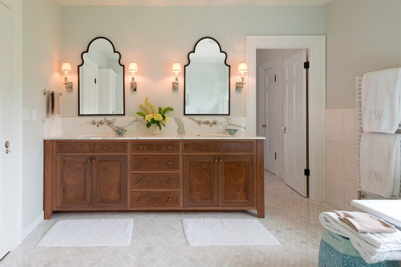 homemade bathroom mirror ideas