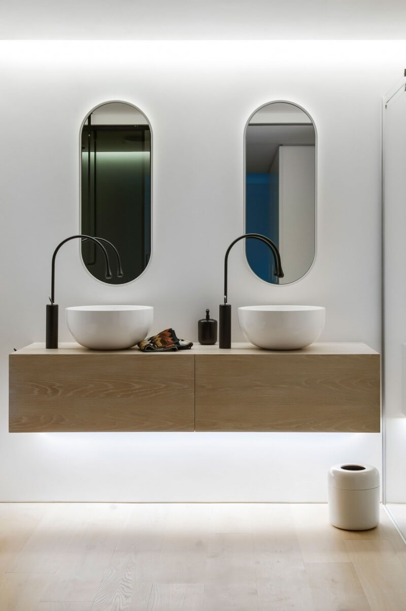 big bathroom mirror ideas