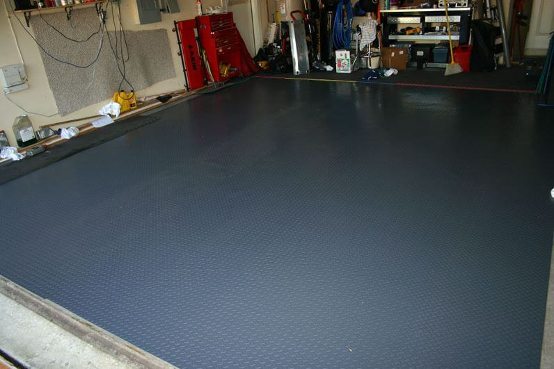 flooring for garage ideas
