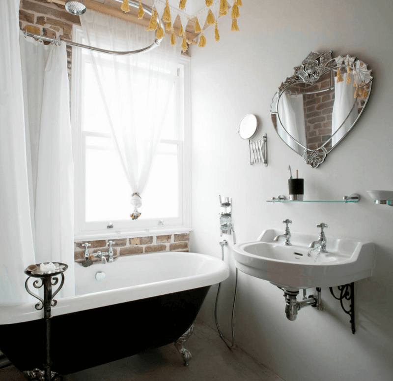 tiny bathroom mirror ideas