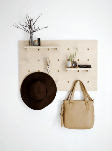 homemade hat rack ideas